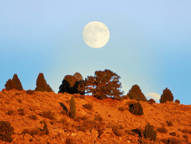 Full Moon over Utah Ranch for sale