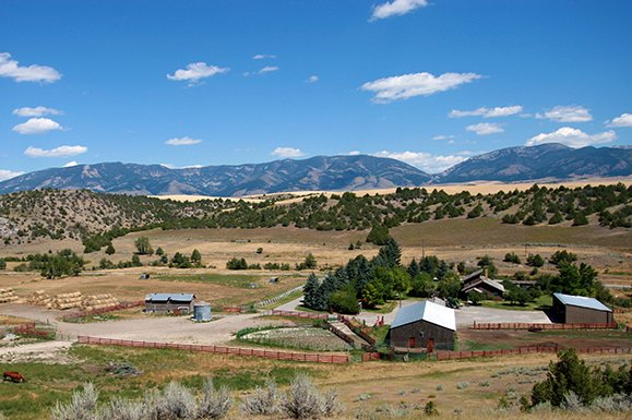 Production and recreation on this Montana ranch for sale near Bozeman